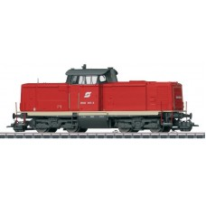 "Marklin 37001 - Austrian Federal Railways (ÖBB) class 2048 diesel locomotive. Former DB class 211. Era V ""traffic red"" version"