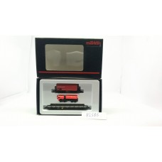 82585 Res 687 + Tank | Gauge Z - Article No. 82585 Railroad Fire Department Car Vehicle Set.