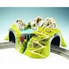 NOCH 05180 Curved Tunnel, Double Track (43 × 41 cm, 23 cm Height)