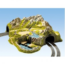 NOCH 05200 Corner Tunnel, Double Track, Curved, 73 x 70 cm