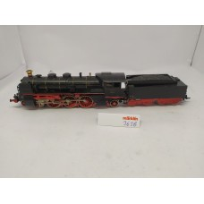 Marklin 3618 Steam locomotive with pulled tender BR18 of the DR (68320)