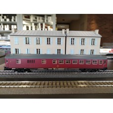 ROCO 45337 2nd class passenger train car with baggage compartment, DSB
