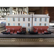 ROCO 44189  Set 2 freight car for gravel transport DB
