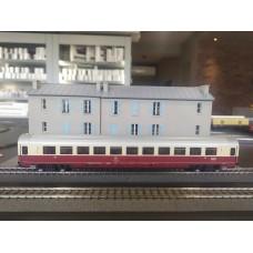 Fleischmann 5661 IC/EC-long distance 1st class openplan coach, type Apmz.123 of the DB
