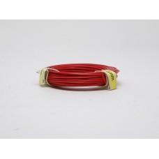 Märklin 7105  Wire Single Conductor Red 10m  0.14mm